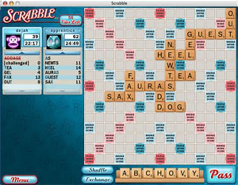 how to play scrabble apple scrabble for the mac new improved smarter than me