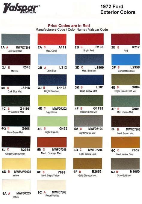 paint colors and codes 108 best images about auto paint colors codes on