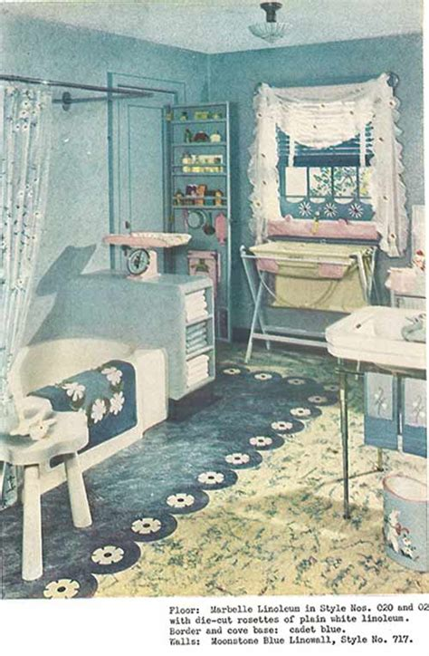 1940s bathroom design 1940s decor 32 pages of designs and ideas from 1944