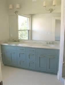 blue vanity bathroom blue vanity contemporary bathroom benjamin