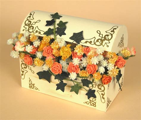 how to make a flower card card craft card templates 3d flower treasure