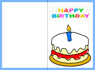 birthday card free printable free printable happy birthday cards images and pictures
