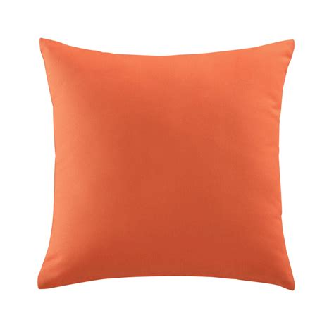 orange cusions orange outdoor cushion 50 x 50 cm maisons du monde