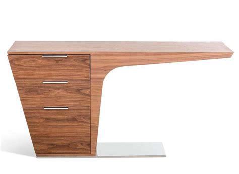 modern contemporary desk image modern walnut desk