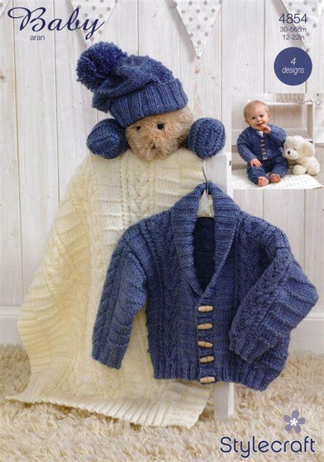 stylecraft knitting patterns to stylecraft 4854 knitting pattern jacket scarf hat
