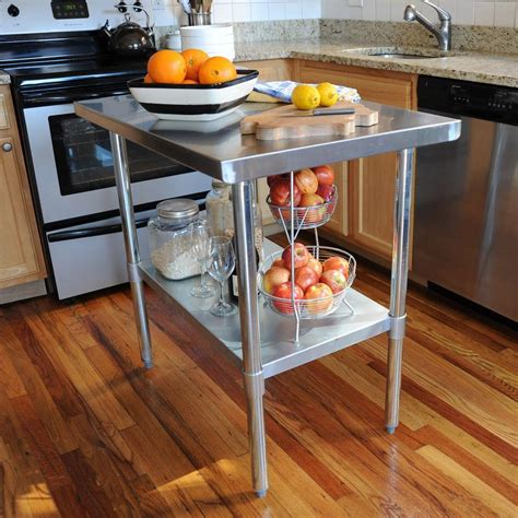 industrial kitchen table furniture effective stainless steel kitchen tables for commercial