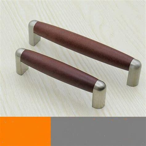 kitchen cabinet drawer pulls 96mm 128mm modern fashion wooden furniture handles