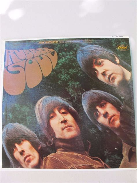 capitol rubber st popsike the beatles rubber soul capitol st 2442