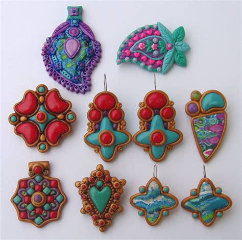 with polymer clay polymer clay jewelry flickr photo