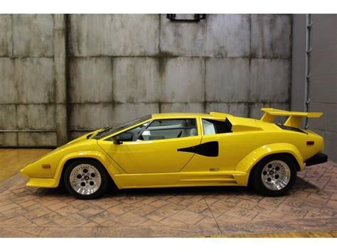 free car manuals to download 1988 lamborghini countach on board diagnostic system 1988 lamborghini countach 13890 miles yellow 12 cylinder 5 speed manual for sale photos