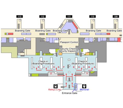 Access Floor International by Trains And Monorails Haneda Airport International Terminal
