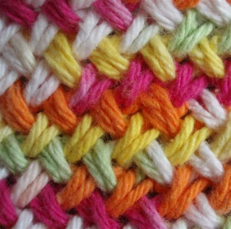 woven or knit craft connection woven knit stitch