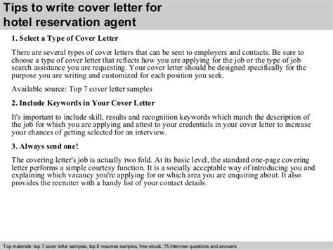 Free Cover Letter Samples hotel reservation agent cover letter