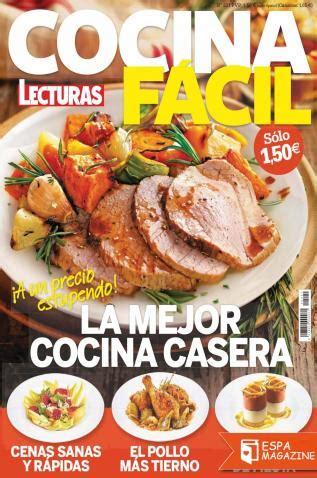 recetas de cocina revista lecturas lecturas cocina facil espamagazine