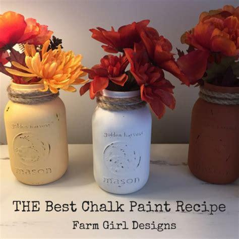 chalk paint wi chalk paint recipe farm designs