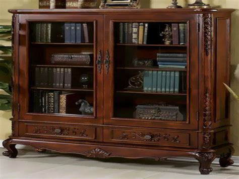 wood bookcases with doors bookcases doors bookcase with drawers on bottom reloc