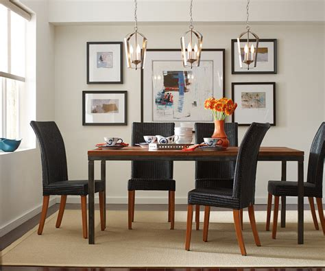 Lighting Over Dining Room Table gather pendants over dining room table contemporary