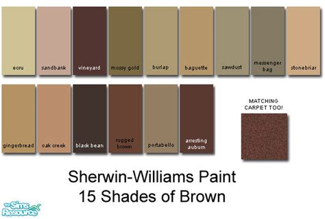 behr paint colors compared to sherwin williams sherwin williams browns brown hairs