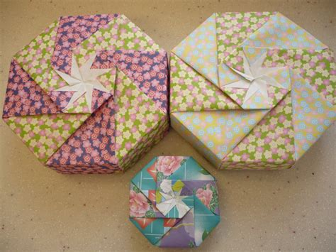how to make a shaped box origami octagon shaped boxes useful origami useful origami