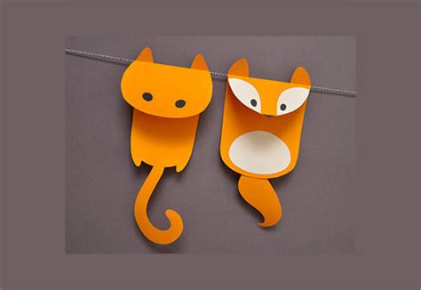 animal paper craft paper craft template 9 documents in psd