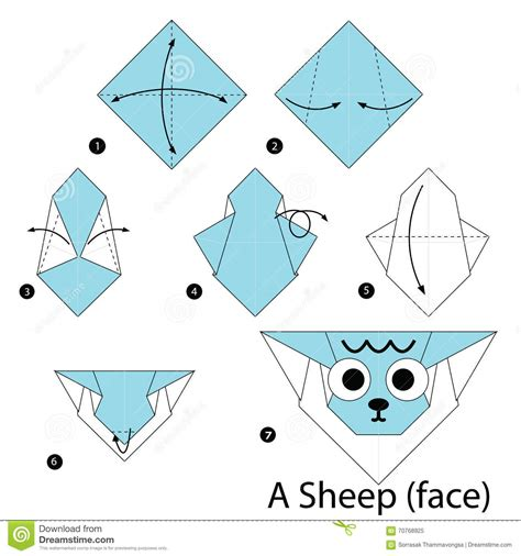 how to make origami sheep step by step how to make origami a sheep