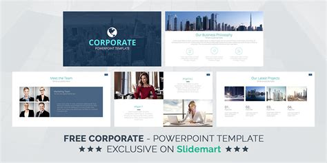 corporate free powerpoint template dealjumbo com