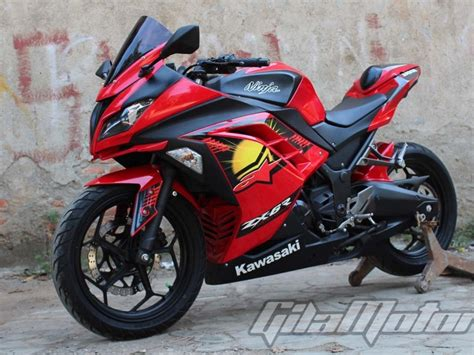 Modifikasi Vespa Tangerang by Kawasaki 250 Fi Tangerang Modifikasi Ringan Ala Bos