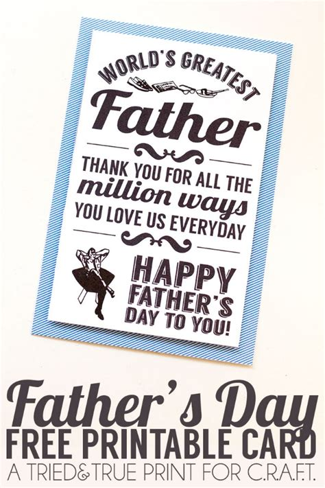 printable fathers day cards for to make printable fathers day cards c r a f t