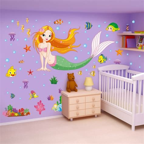 mermaid wall sticker mermaid vinyl decal wall sticker vinyl decal