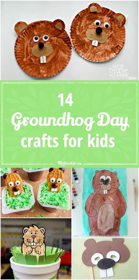 groundhog day crafts for 14 groundhog day crafts for tip junkie