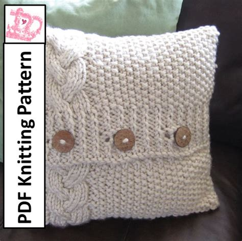 knitted pillow cover pattern free knitting patterns cushion covers 1000 free patterns