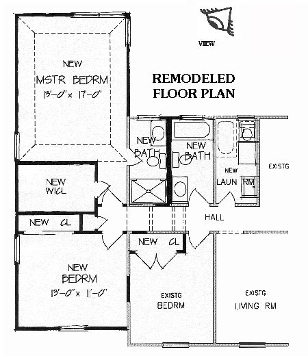 master bedroom floor plan designs new master suite brb09 5175 the house designers