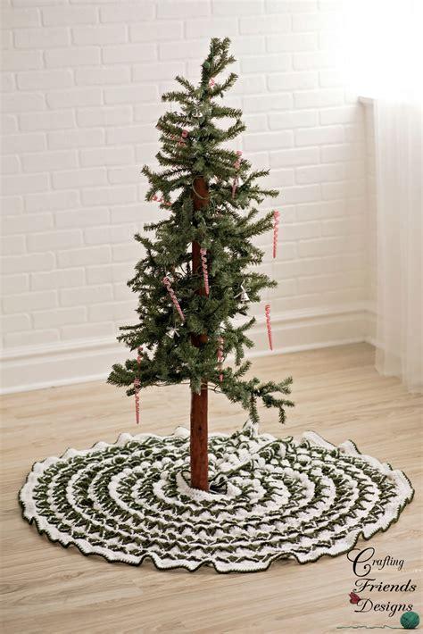 pattern for tree skirt pine tree skirt crochet pattern