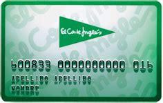 tarjeta de compras del corte ingles 301 moved permanently