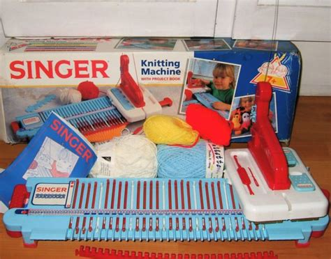 how to use singer knitting machine vintage childs singer knitting machine knitting