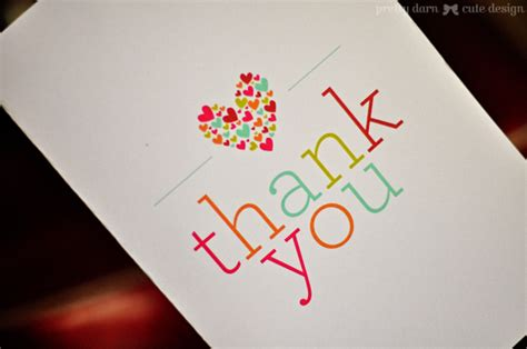 make thank you cards with photos free design more free thank you card printables