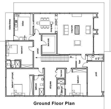 ground floor house plan house plans house plan for chalay ground