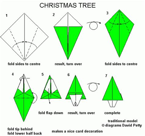 how to make a tree origami year 6 december 2012