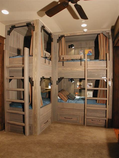bunk style beds cabin bunk bed ideas rustic with light wood bunk beds
