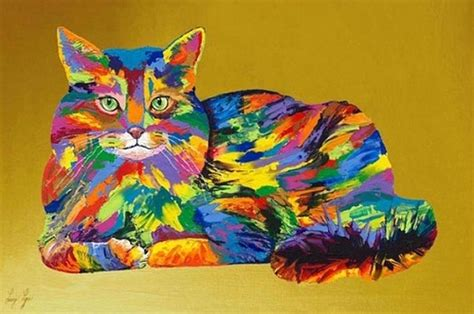 rainbow cat painting will save viola in everything