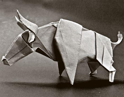 origami bull origami bull 2 by alejandro delafuente on deviantart