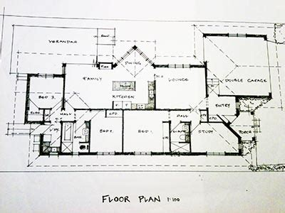 draft a blueprint of your home diy house plans