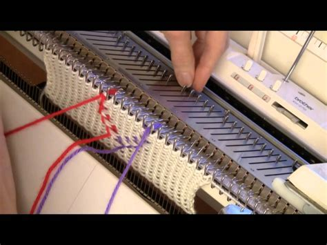 what is knitting machine vertical quot floatless quot fair isle for knitting machine by