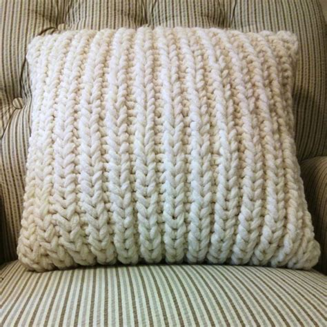 25 Best Ideas About Knitted Cushions On
