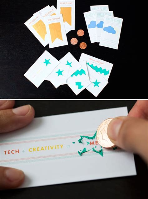 make your own scratch card how to make scratch business cards free printables