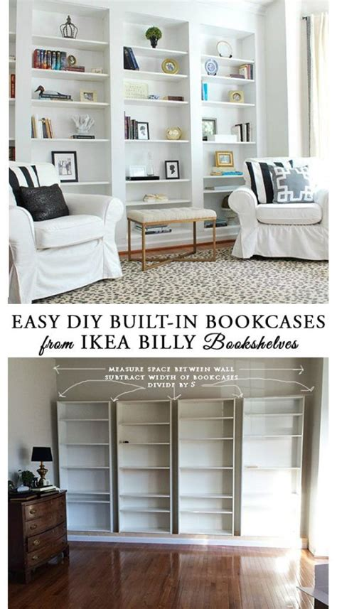 self assembly bookshelves best 25 built in bookcase ideas on built ins