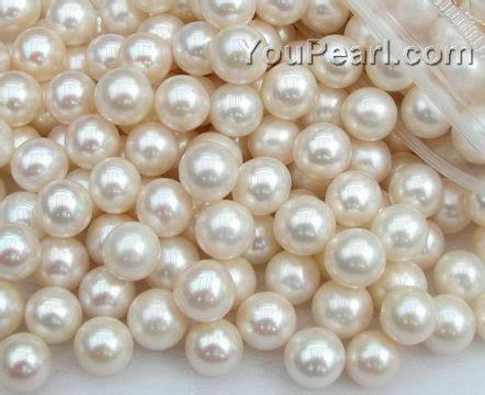 pearl in bulk 9 10mm freshwater white pearls wholesale aa