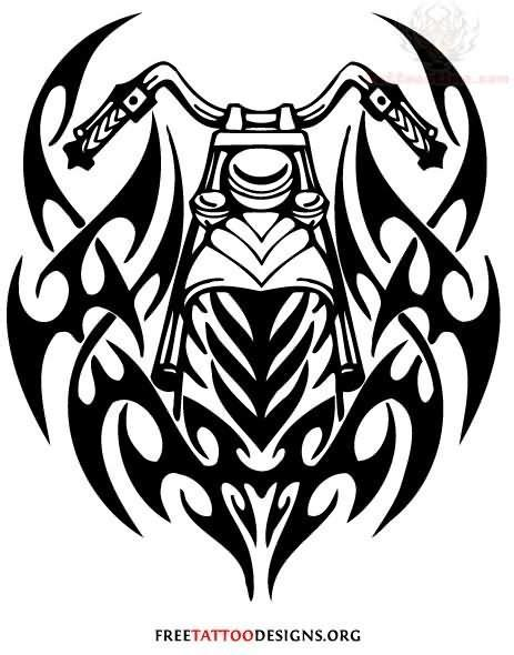 Tattoo Motorrad Tribal by Tribal Motorcycle Tattoo Designs Motorcycle Awesomeness