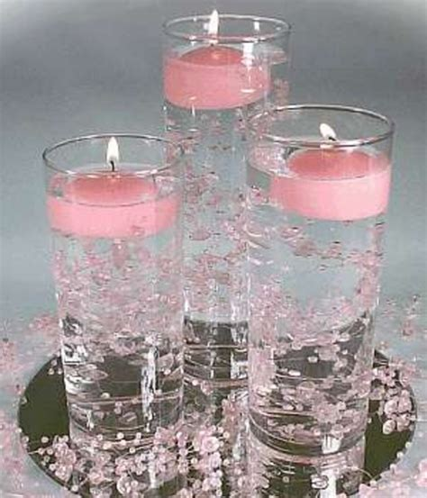 candle in water centerpiece centerpieces a magical touch to your table 4housework