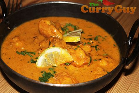 Fancy Kitchen monkfish curry british indian restaurant recipes by the